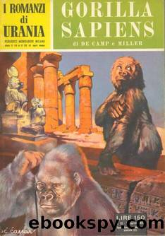 Gorilla sapiens by L. Sprague De Camp & P. Schuyler Miller